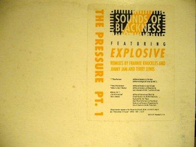 画像2: SOUNDS OF BLACKNESS / THE PRESSURE PT.1  (US-PROMO 12×2)