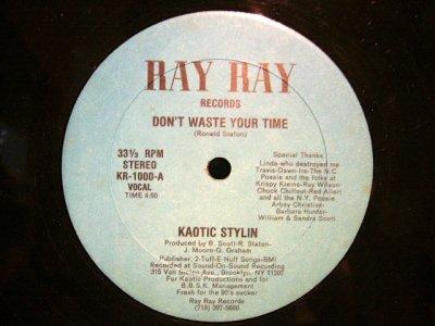 画像1: KAOTIC STYLIN / DON'T WASTE YOUR TIME