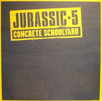 画像1: JURASSIC 5 / CONCRETE SCHOOLYARD  (UK)