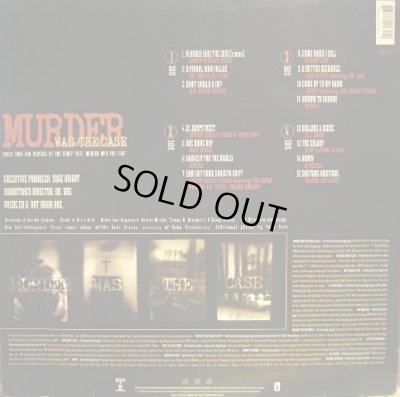 """画像2: V.A. / MURDER WAS THE CASE (MUSIC FROM AND INSPIRED BY THE SHORT FILM """"MURDER WAS THE CASE"""")  (GEMA-2LP)"""