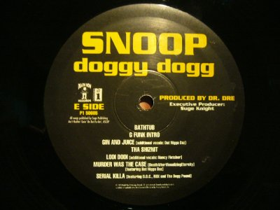 画像3: SNOOP DOGGY DOGG / DOGGYSTYLE  (US-LP)