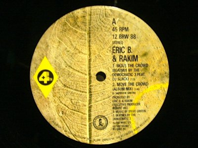 画像2: ERIC B. & RAKIM ‎/ MOVE THE CROWD  (UK)