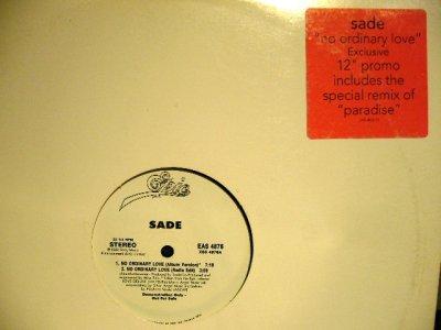 画像1: SADE / NO ORDINARY LOVE  (US-PROMO)