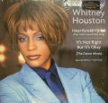 WHITNEY HOUSTON ‎/ HEARTBREAK HOTEL / IT'S NOT RIGHT BUT IT'S OKAY (THE DANCE MIXES)