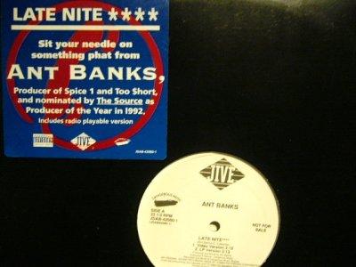 画像2: ANT BANKS / LATE NITE / ROLL 'EM PHAT  (US-PROMO)
