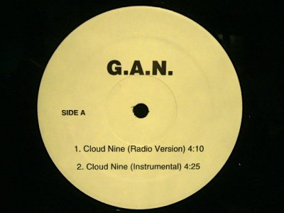 画像1: G.A.N. ‎/ CLOUD NINE  (US-PROMO)