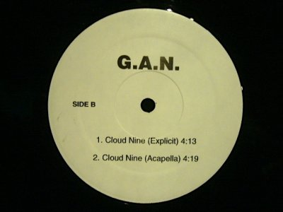 画像2: G.A.N. ‎/ CLOUD NINE  (US-PROMO)