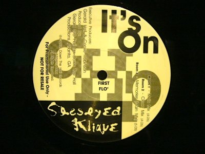 画像1: SESSEYED KLIQUE ‎/ IT'S ON  (US-PROMO)