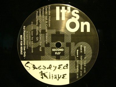 画像2: SESSEYED KLIQUE ‎/ IT'S ON  (US-PROMO)