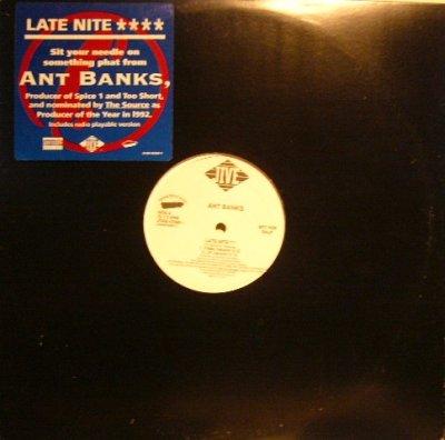 画像1: ANT BANKS / LATE NITE / ROLL 'EM PHAT  (US-PROMO)