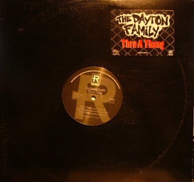 画像1: THE DAYTON FAMILY / THRU A THANG / DOPE DAYTON AVE.  (US-PROMO)