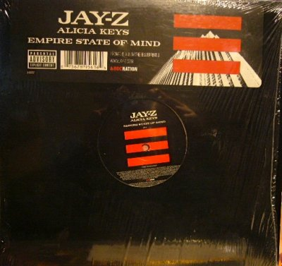 画像1: JAY-Z & ALICIA KEYS ‎/ EMPIRE STATE OF MIND