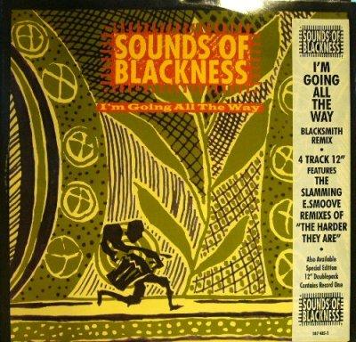 画像1: SOUNDS OF BLACKNESS / I'M GOING ALL THE WAY/ THE HARDER THEY ARE  (UK)
