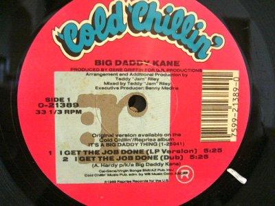 画像1: BIG DADDY KANE / I GET THE JOB DONE