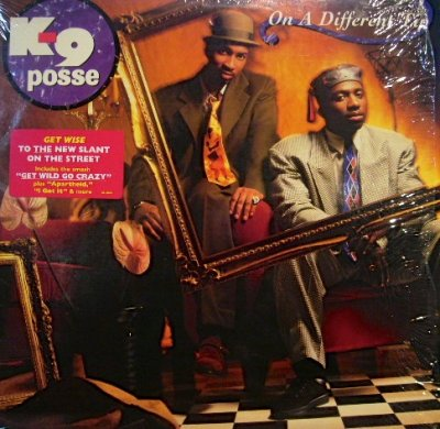 画像1: K-9 POSSE / ON A DIFFERENT TIP (LP)