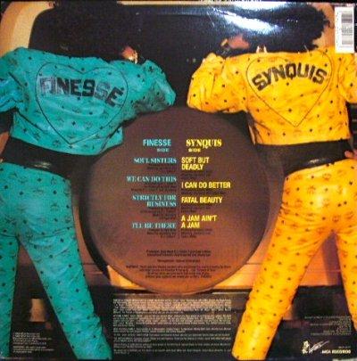 画像2: FINESSE & SYNQUIS / SOUL SISTERS  (US-LP)