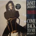 JANET JACKSON ‎/ COME BACK TO ME / ALRIGHT  (UK)