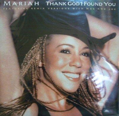 画像1: MARIAH CAREY FEATURING REMIX VERSIONS WITH NAS AND JOE / THANK GOD I FOUND YOU