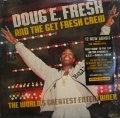 DOUG E. FRESH AND THE GET FRESH CREW / THE WORLDS GREATEST ENTERTAINER  (US-LP)