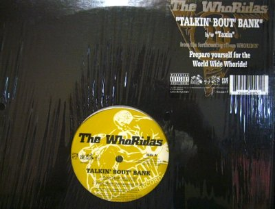 画像1: THE WHORIDAS ‎/ TALKIN' BOUT' BANK