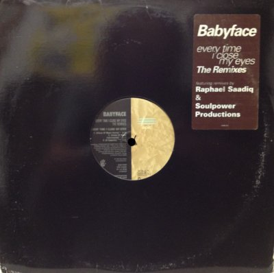 画像1: BABYFACE / EVERY TIME I CLOSE MY EYES (THE REMIXES)  (¥1000)