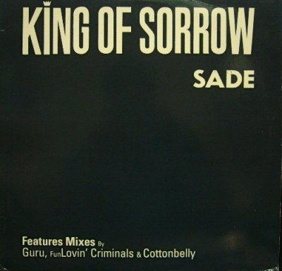 画像1: SADE ‎/ KING OF SORROW  (US-PROMO)