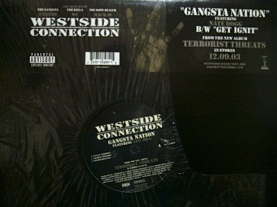 画像1: WESTSIDE CONNECTION ‎/ GANGSTA NATION