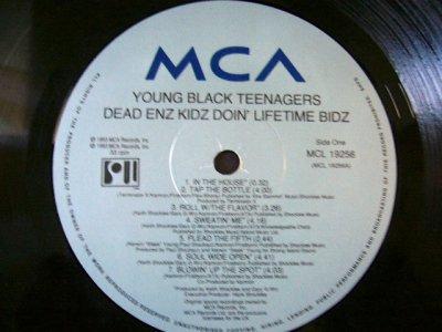 画像3: YOUNG BLACK TEENAGERS / DEAD ENZ KIDZ DOIN'LIFETIME BIDZ  (UK-LP)