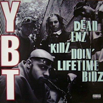 画像1: YOUNG BLACK TEENAGERS / DEAD ENZ KIDZ DOIN'LIFETIME BIDZ  (UK-LP)