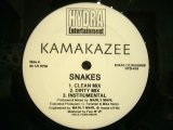 KAMAKAZEE ‎/ SNAKES / SPREAD IT (REMIX)