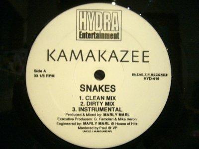 画像1: KAMAKAZEE / SNAKES / SPREAD IT (REMIX)