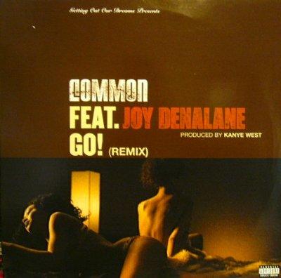 画像1: COMMON FEAT. JOY DENALANE / GO! (REMIX)