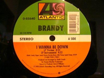 画像2: BRANDY / I WANNA BE DOWN