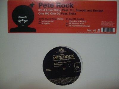 画像1: PETE ROCK / IT'S A LOVE THING