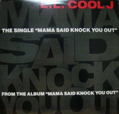 画像1: L.L. COOL J / MAMA SAID KNOCK YOU OUT