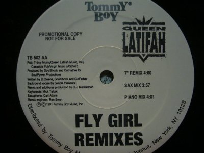 画像1: QUEEN LATIFAH / FLY GIRL REMIXES