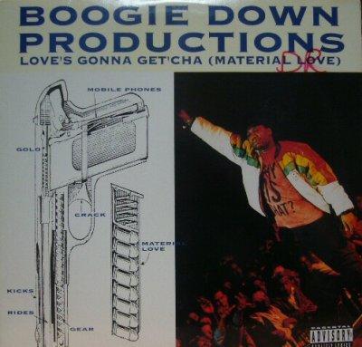 画像1: BOOGIE DOWN PRODUCTIONS / LOVE'S GONNA GET'CHA