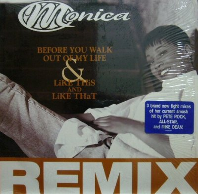 画像1: MONICA / BEFORE YOU WALK OUT OF MY LIFE