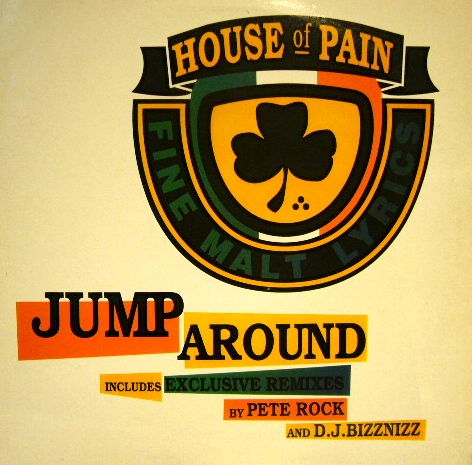 house of pain jump around uk source records ソースレコード